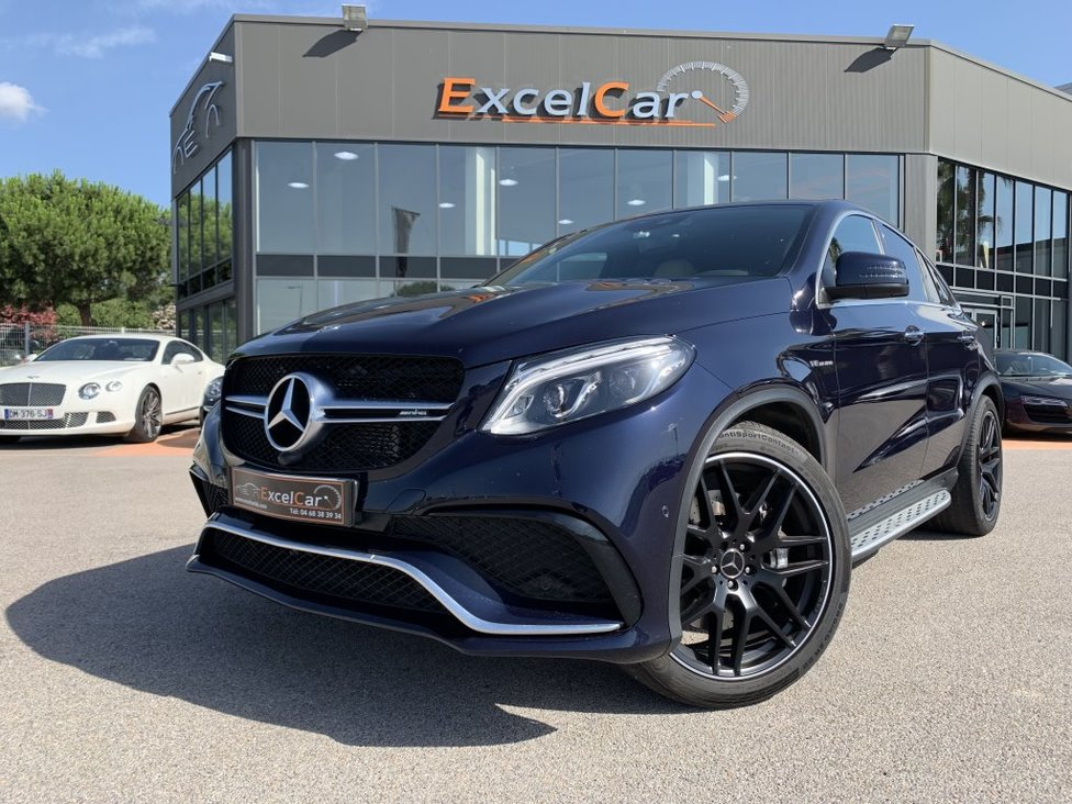 MERCEDES BENZ GLE COUPE 63 AMG 7G-TRONIC SPEEDSHIFT PLUS AMG