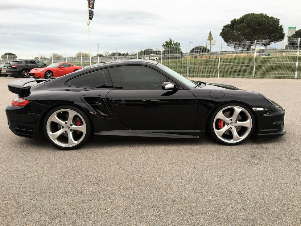 PORSCHE 997 TURBO 550 TECHART