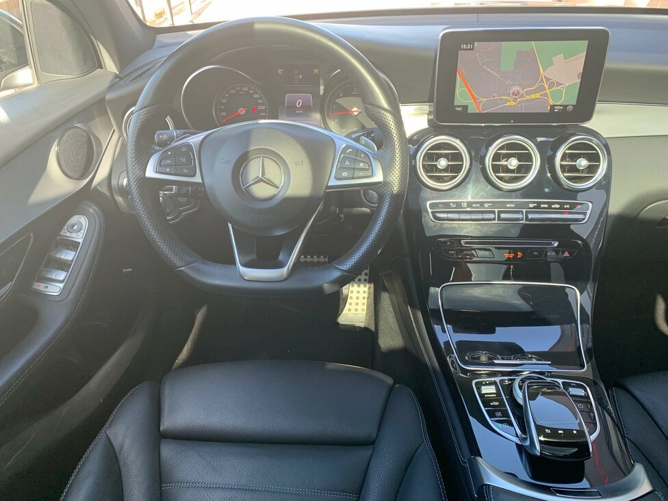 MERCEDES GLC 350D 4 MATIC FASCINATION 9G TRONIC