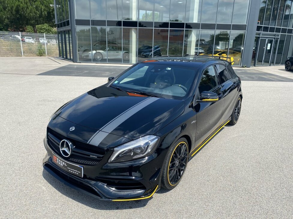 MERCEDES CLASSE A 45 AMG (2) 4MATIC EDITION 1 YELLOW NIGHT