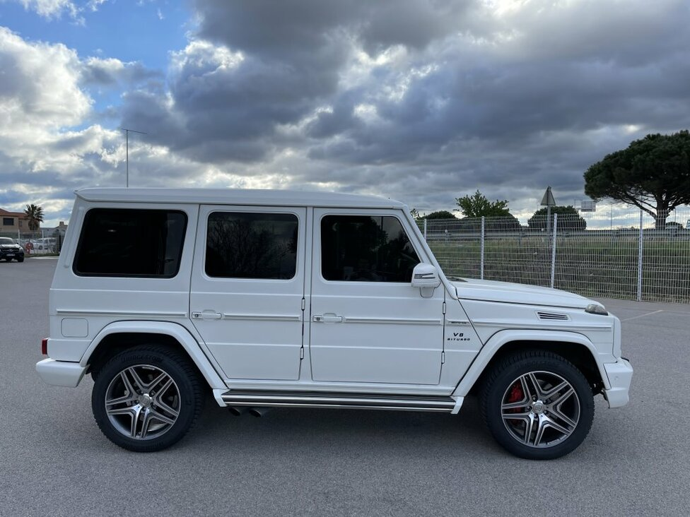 MERCEDES BENZ G 63 AMG LONG 7G-TRONIC SPEEDSHIFT PLUS