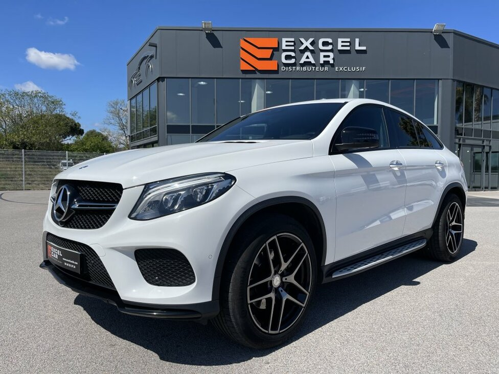 MERCEDES GLE COUPE 350D FASCINATION AMG
