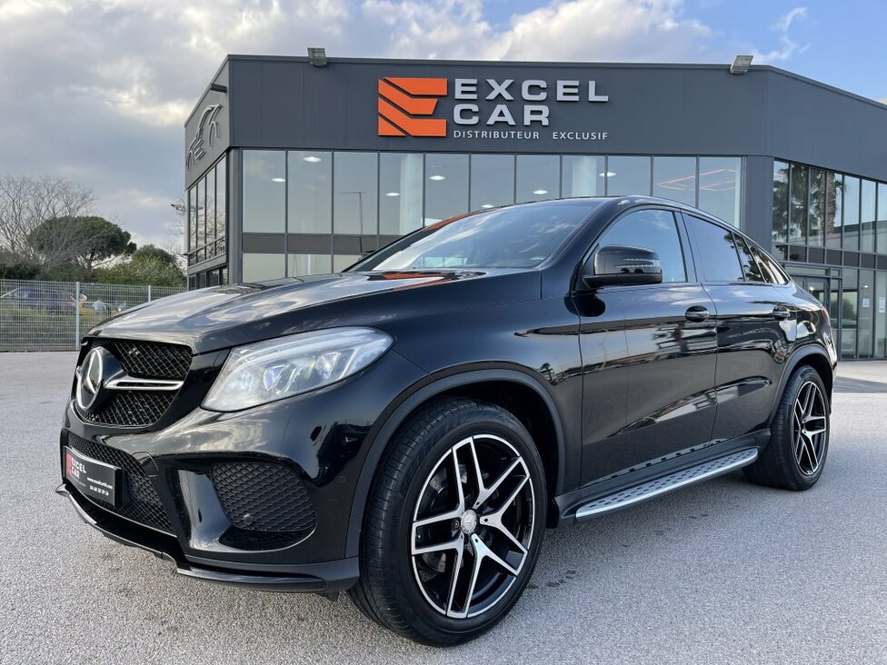 MERCEDES GLE COUPE 350D FASCINATION 4MATIC