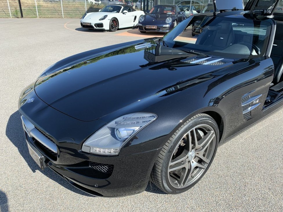 MERCEDES BENZ SLS 6.3L AMG COUPE SPPEDSHIFT DCT