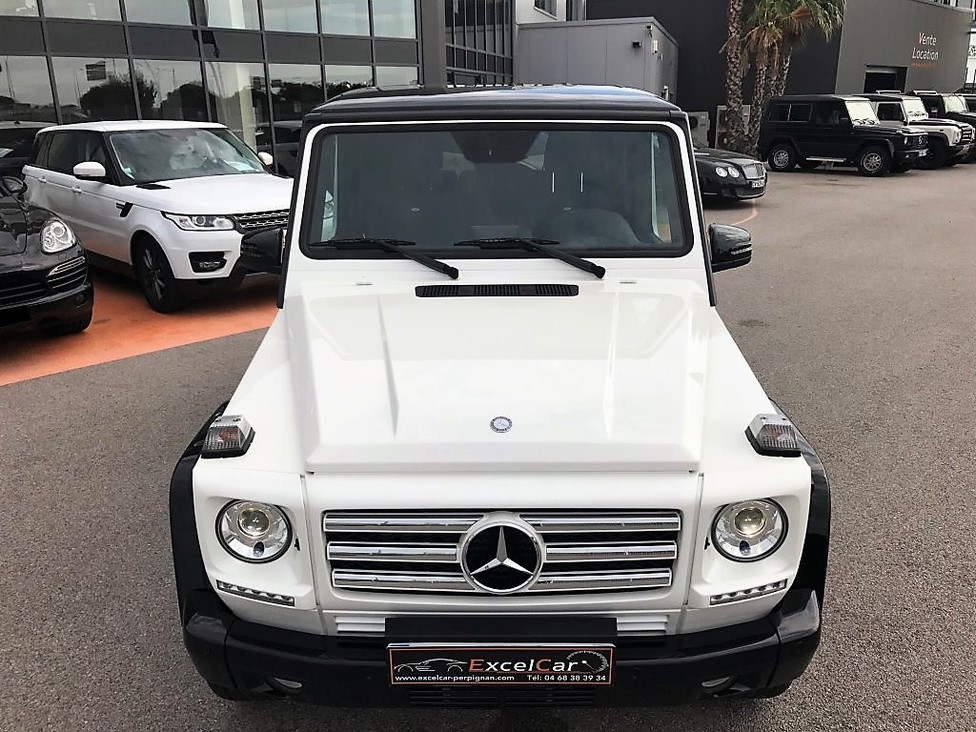 MERCEDES BENZ G 350D BLUETEC 7G-TRONIC+  ICONIC EDITION